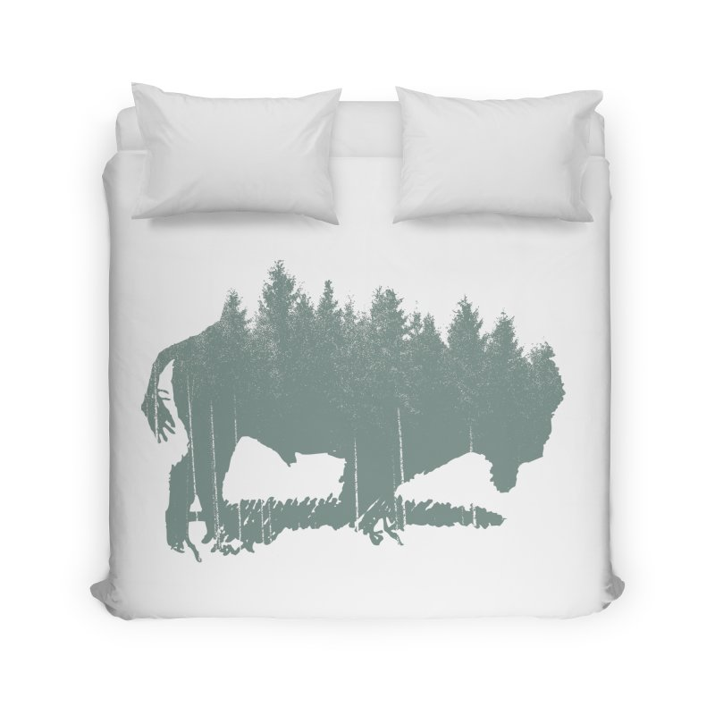 Bison Shag Tree Coat Home Duvet by CRANK. outdoors + music lifestyle clothing