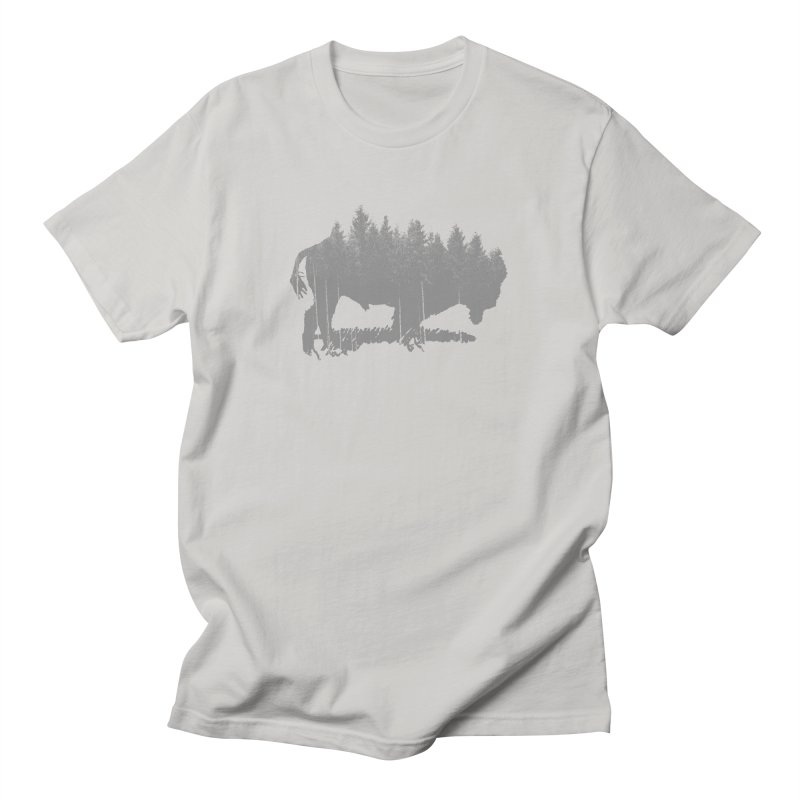 Bison for the Trees Men's T-Shirt by CRANK. outdoors + music lifestyle clothing