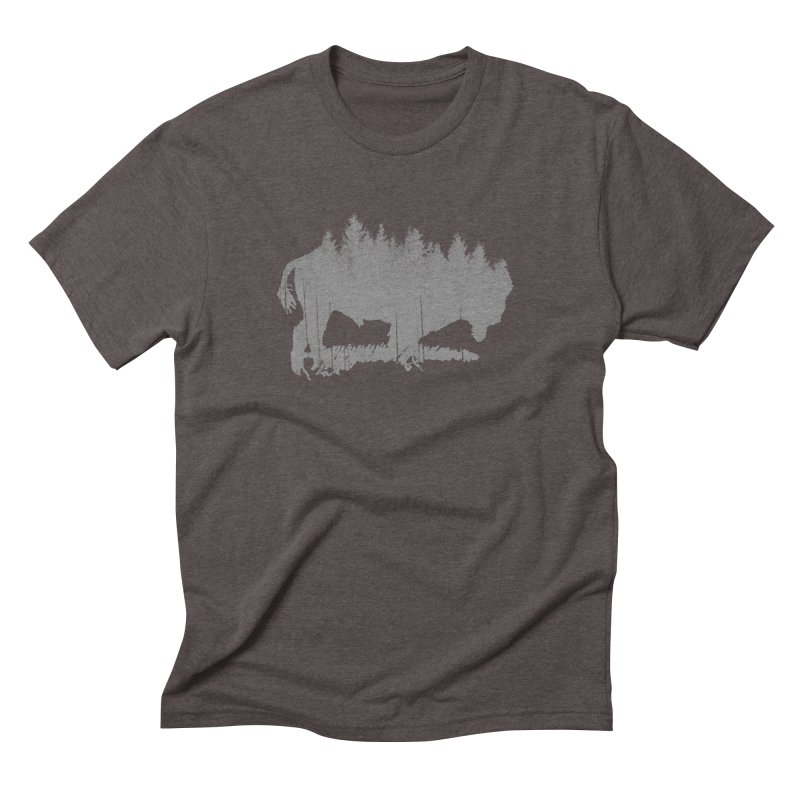 Bison for the Trees   by CRANK. outdoors + music lifestyle clothing
