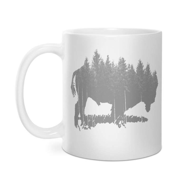 Bison for the Trees Accessories Mug by CRANK. outdoors + music lifestyle clothing