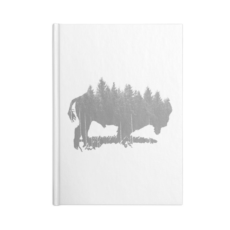Bison for the Trees Accessories Lined Journal Notebook by CRANK. outdoors + music lifestyle clothing
