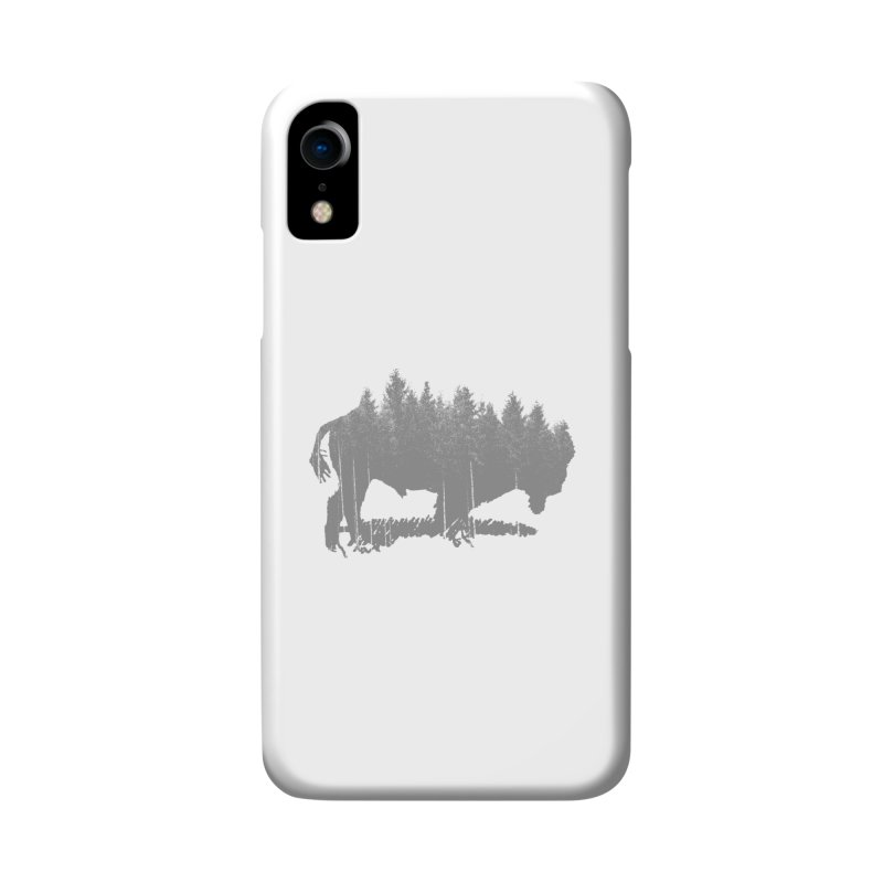 Bison for the Trees Accessories Phone Case by CRANK. outdoors + music lifestyle clothing