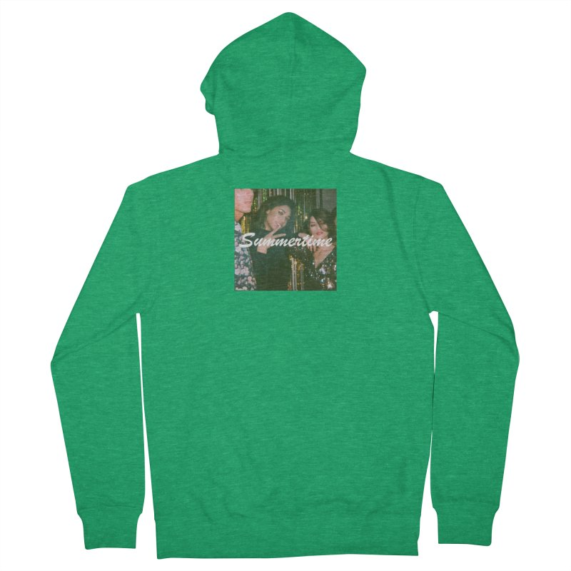 Summertime Men's Zip-Up Hoody by The silverback fam experience