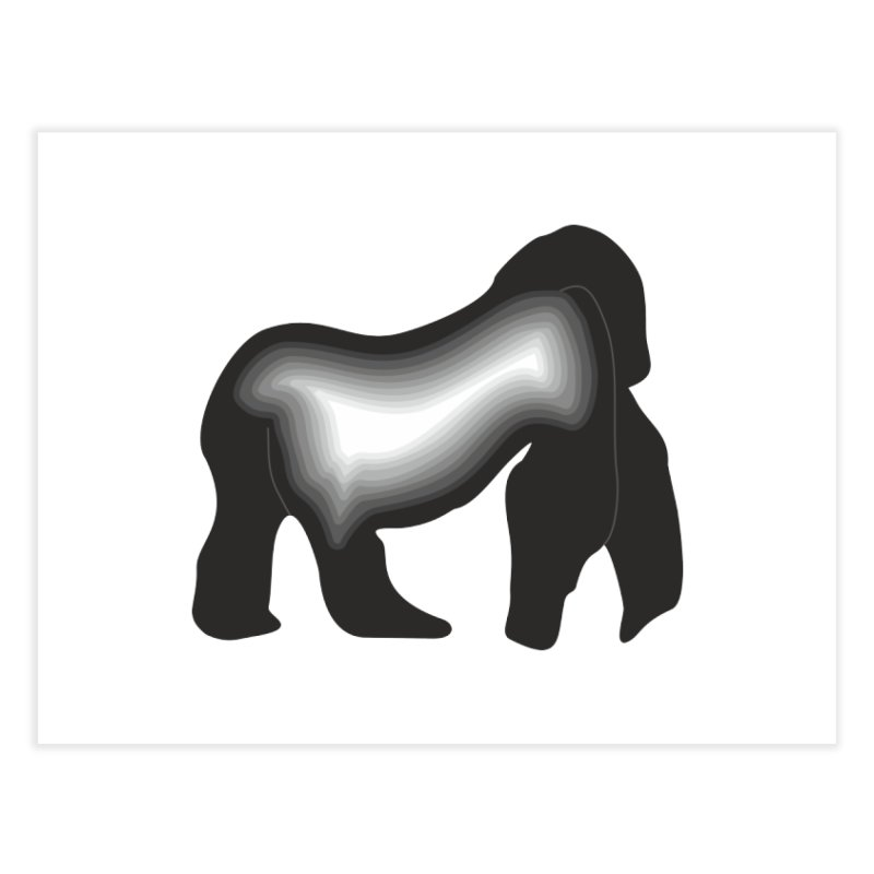 Silverback fam Home Fine Art Print by The silverback fam experience