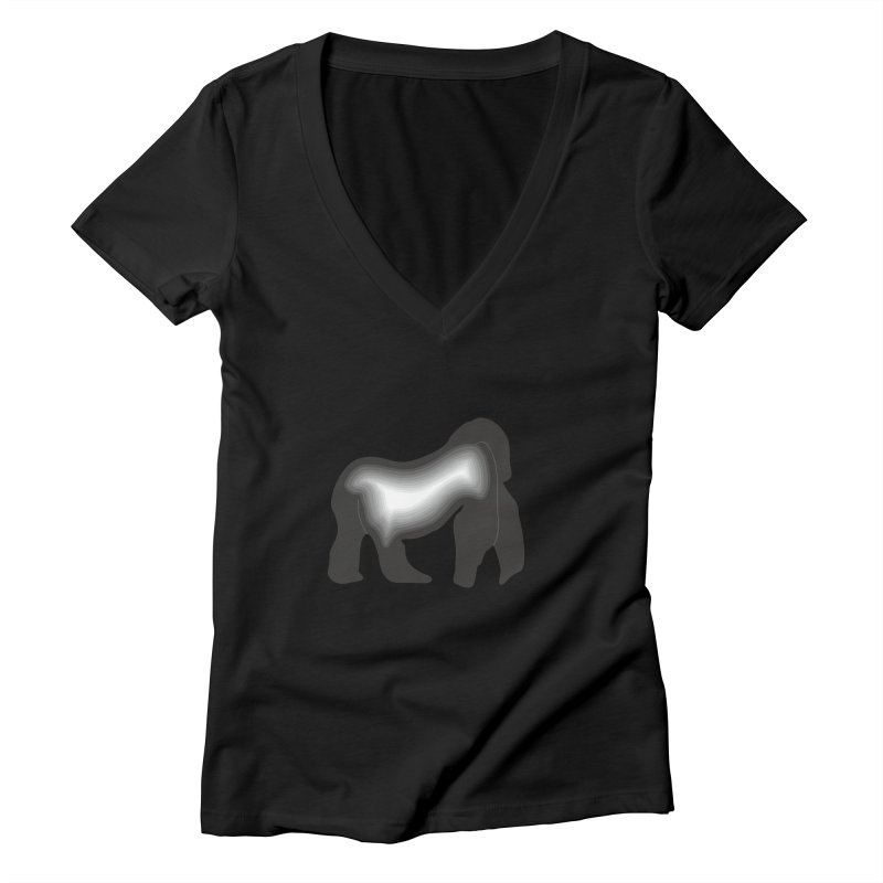 Silverback fam Women's V-Neck by The silverback fam experience