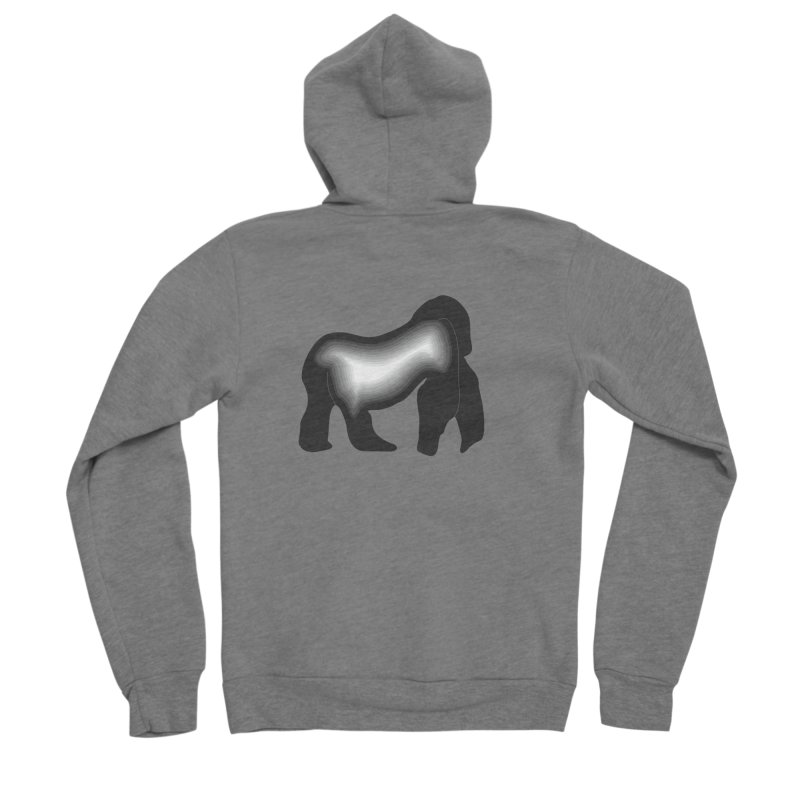 Silverback fam Men's Zip-Up Hoody by The silverback fam experience