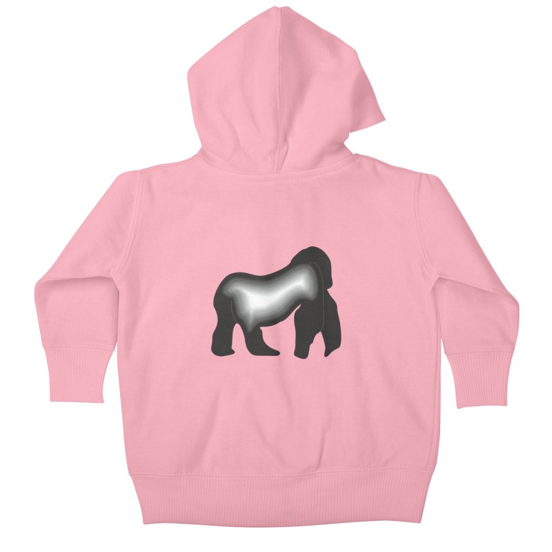 Silverback fam Kids Baby Zip-Up Hoody by The silverback fam experience