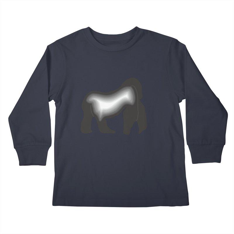 Silverback fam Kids Longsleeve T-Shirt by The silverback fam experience