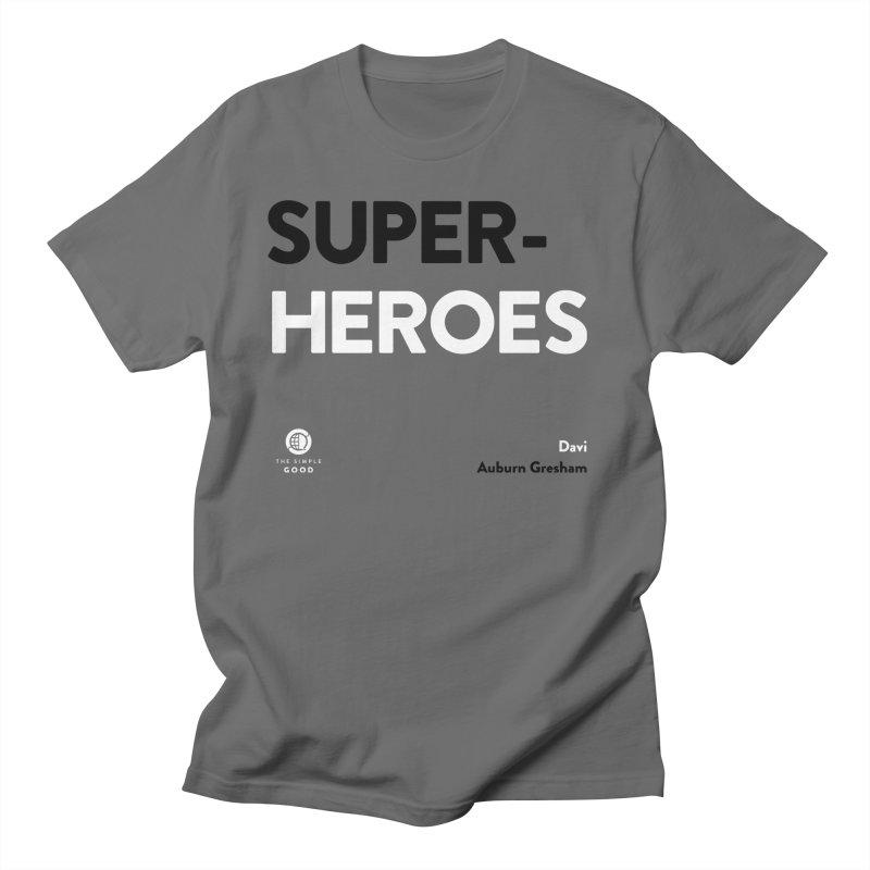 Super-Heroes in Auburn Greshman Men's T-Shirt by The Simple Good