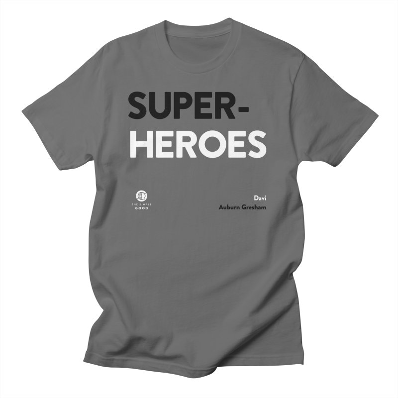 Super-Heroes in Auburn Greshman Men's T-Shirt by The Simple Good