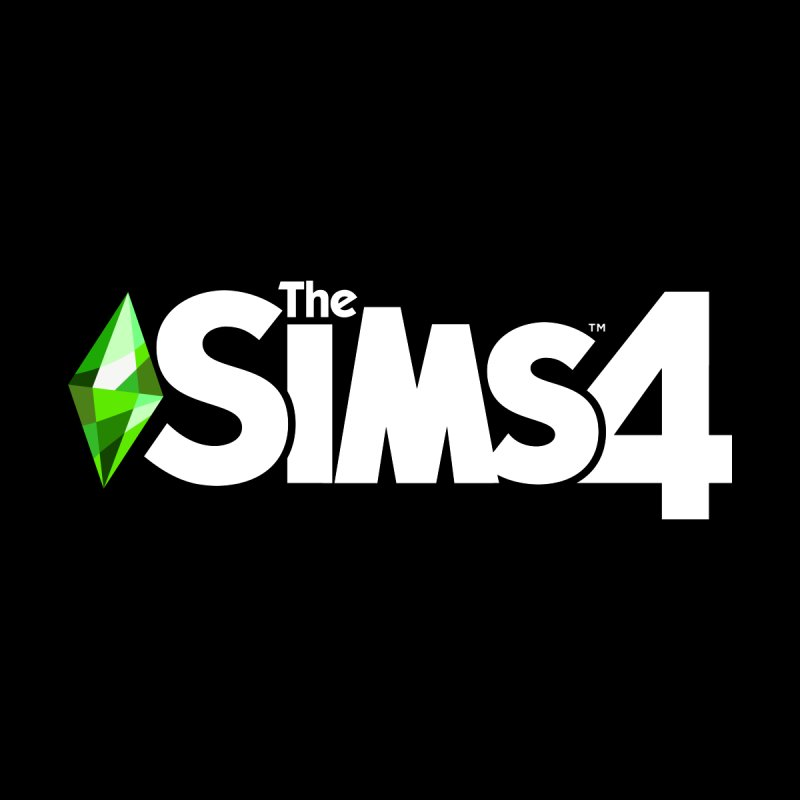 The Sims 4 Logo - White Men's T-Shirt by The Sims Official Threadless Store