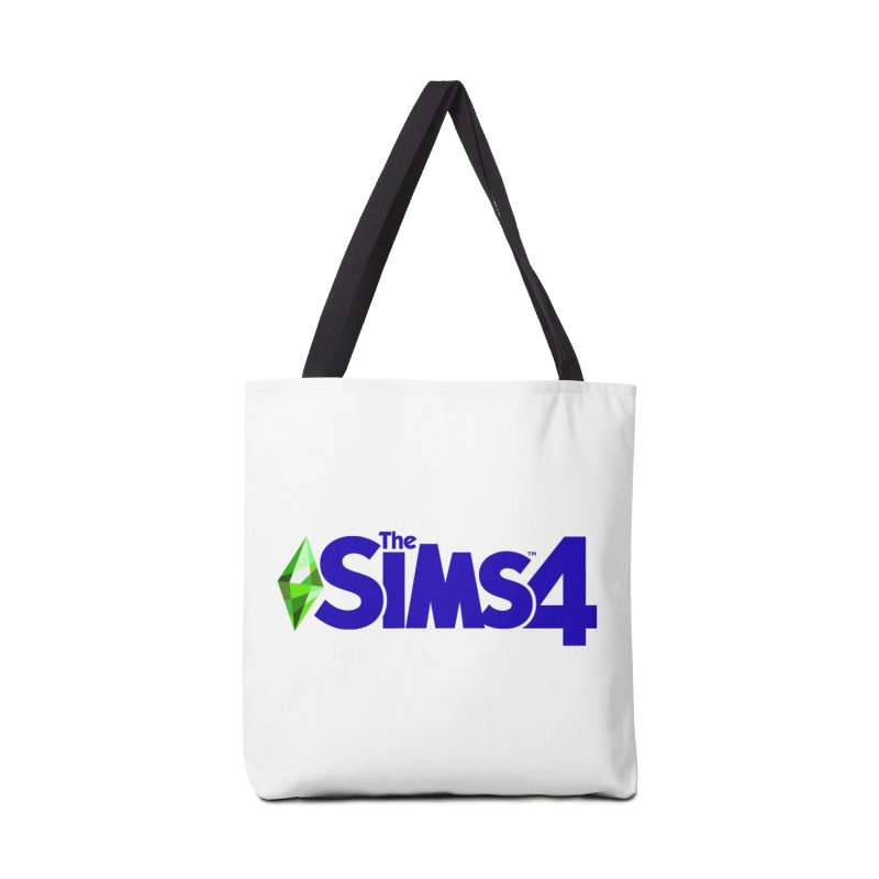 The Sims 4 Logo - Blue Accessories Tote Bag Bag by The Sims Official Threadless Store