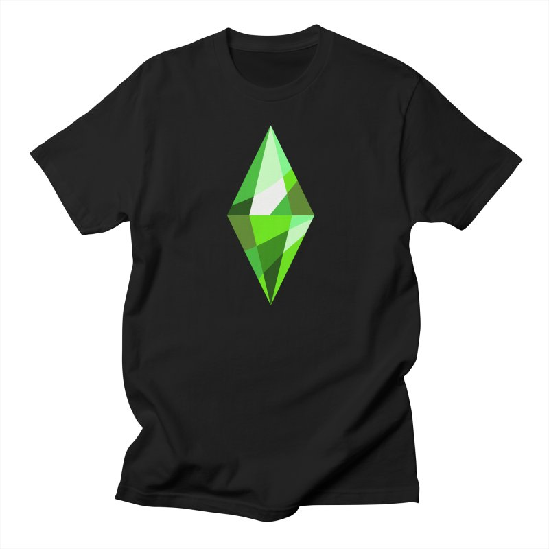The Sims 4 Plumbob Men's Regular T-Shirt by The Sims Official Threadless Store