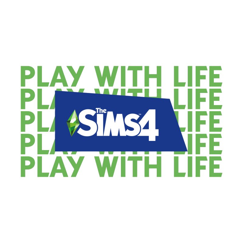 The Sims 4 Play With Life by The Sims Official Threadless Store