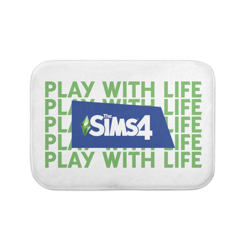 The Sims 4 Play With Life Home Bath Mat by The Sims Official Threadless Store