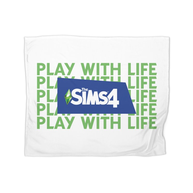 The Sims 4 Play With Life Home Fleece Blanket Blanket by The Sims Official Threadless Store
