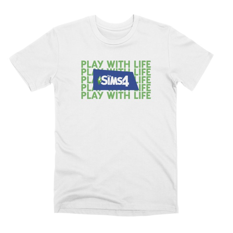 The Sims 4 Play With Life Men's Premium T-Shirt by The Sims Official Threadless Store
