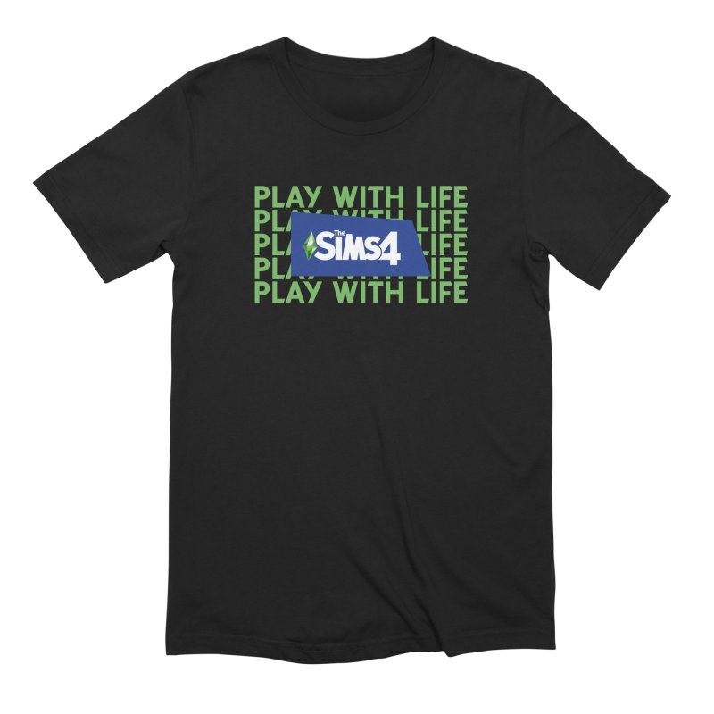 The Sims 4 Play With Life Men's Extra Soft T-Shirt by The Sims Official Threadless Store