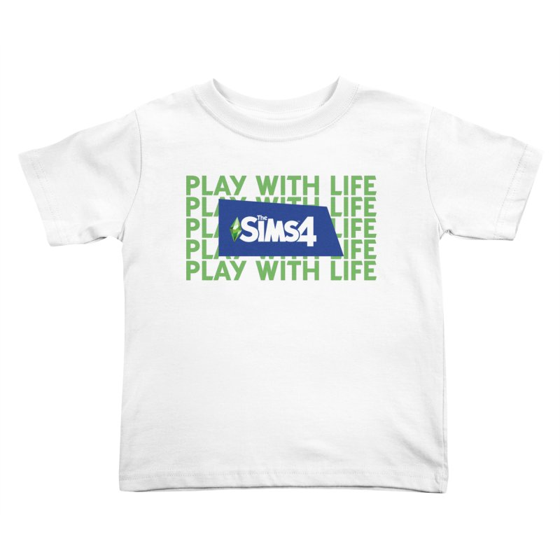 The Sims 4 Play With Life Kids Toddler T-Shirt by The Sims Official Threadless Store