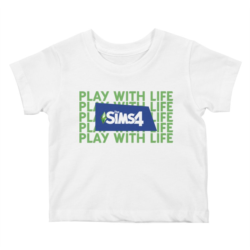 The Sims 4 Play With Life Kids Baby T-Shirt by The Sims Official Threadless Store