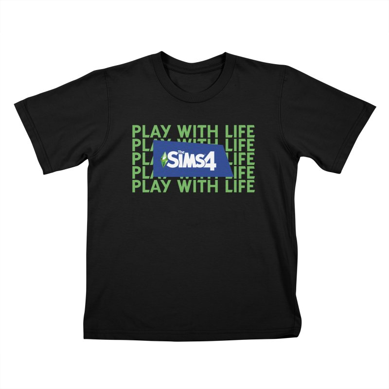 The Sims 4 Play With Life Kids T-Shirt by The Sims Official Threadless Store