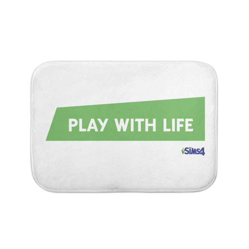 Play With Life Home Bath Mat by The Sims Official Threadless Store