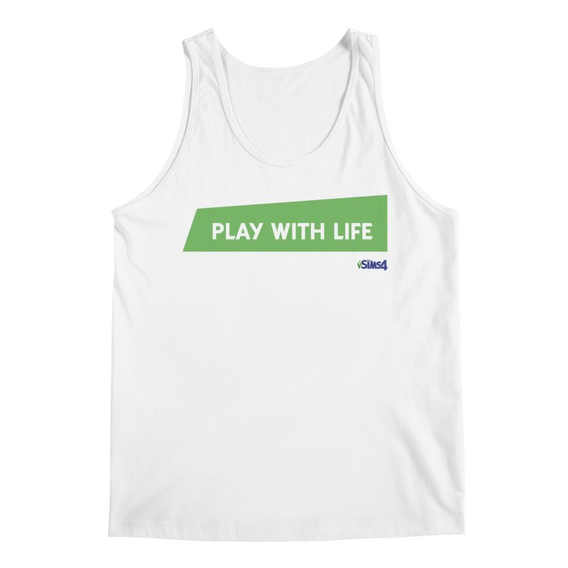 Play With Life Men's Regular Tank by The Sims Official Threadless Store