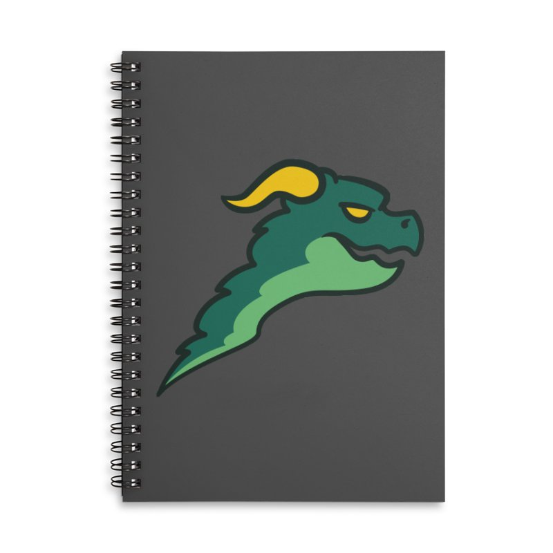 Britechester Dragons Accessories Lined Spiral Notebook by The Sims Official Threadless Store