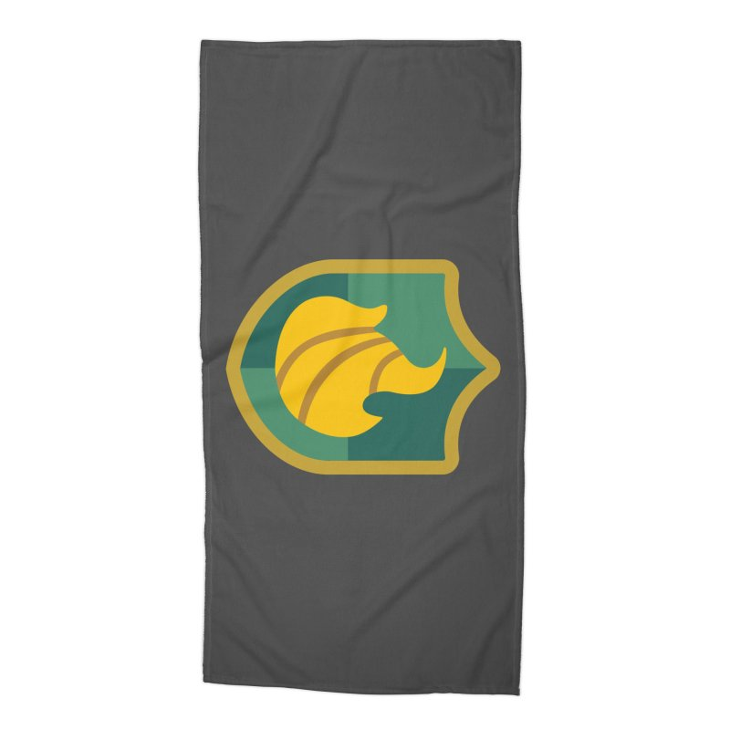 Britechester Crest Accessories Beach Towel by The Sims Official Threadless Store