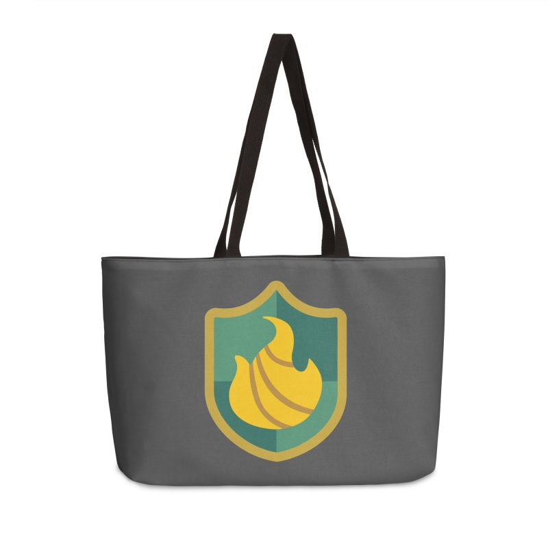 Britechester Crest Accessories Weekender Bag Bag by The Sims Official Threadless Store