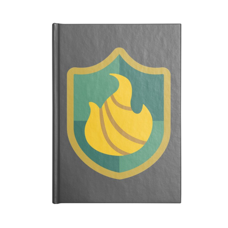 Britechester Crest Accessories Blank Journal Notebook by The Sims Official Threadless Store