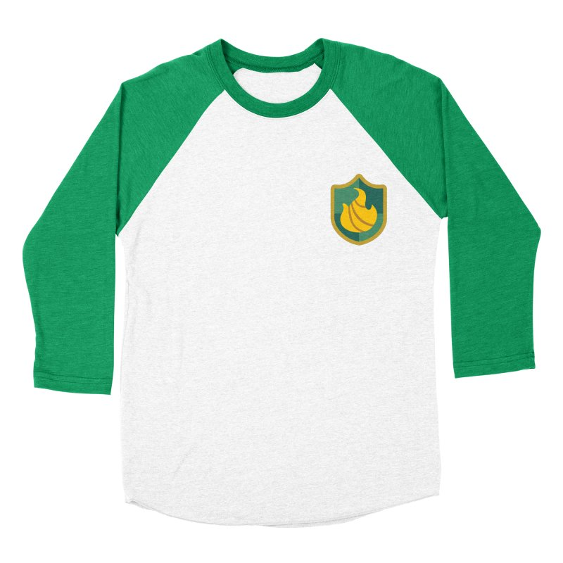 Britechester Crest in Men's Baseball Triblend Longsleeve T-Shirt Tri-Kelly Sleeves by The Sims Official Threadless Store