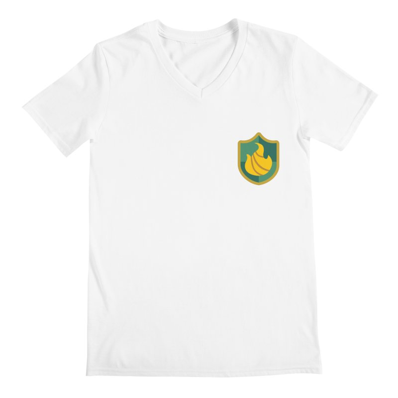 Britechester Crest Men's Regular V-Neck by The Sims Official Threadless Store