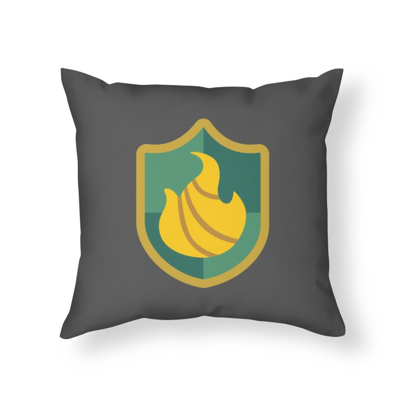 Britechester Crest Home Throw Pillow by The Sims Official Threadless Store
