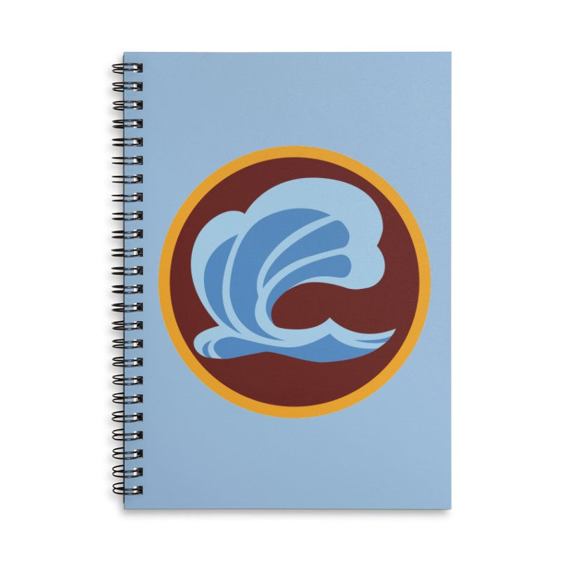 Foxbury Crest Accessories Lined Spiral Notebook by The Sims Official Threadless Store