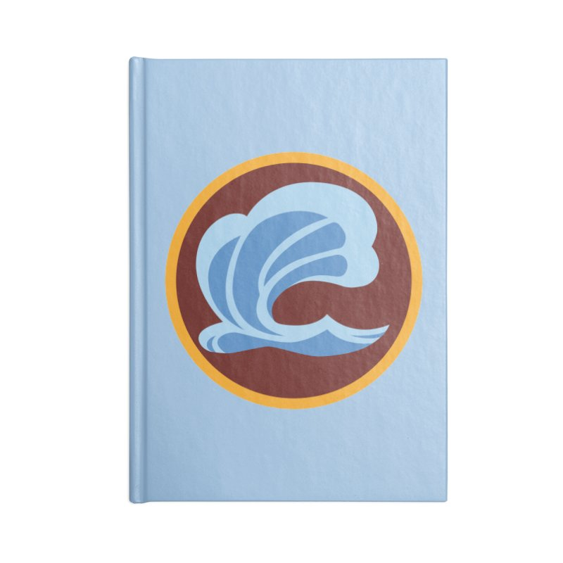 Foxbury Crest Accessories Lined Journal Notebook by The Sims Official Threadless Store