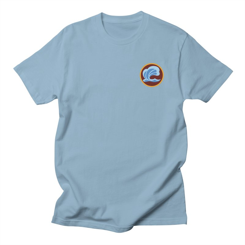 Foxbury Crest in Men's Regular T-Shirt Light Blue by The Sims Official Threadless Store