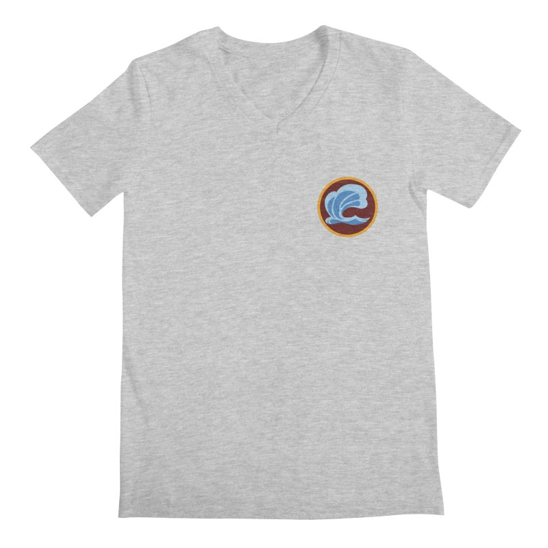 Foxbury Crest Men's Regular V-Neck by The Sims Official Threadless Store