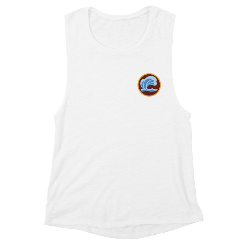 Foxbury Crest Women's Muscle Tank by The Sims Official Threadless Store