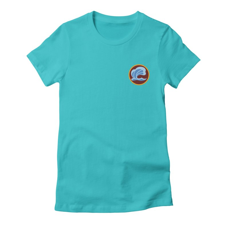 Foxbury Crest Women's Fitted T-Shirt by The Sims Official Threadless Store