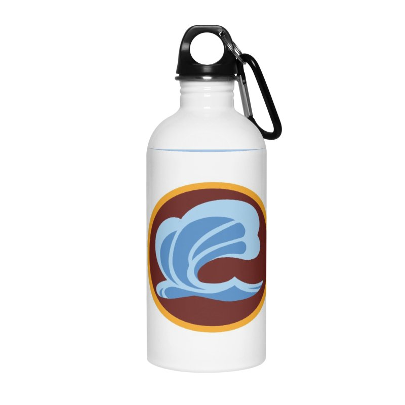 Foxbury Crest Accessories Water Bottle by The Sims Official Threadless Store