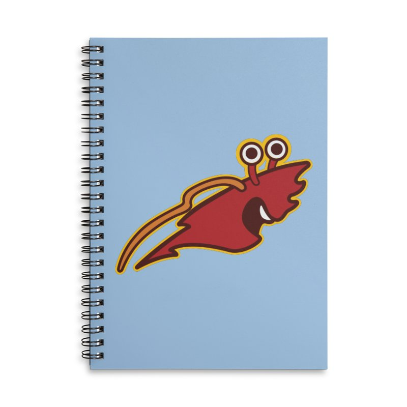 Foxbury Pincers Accessories Lined Spiral Notebook by The Sims Official Threadless Store