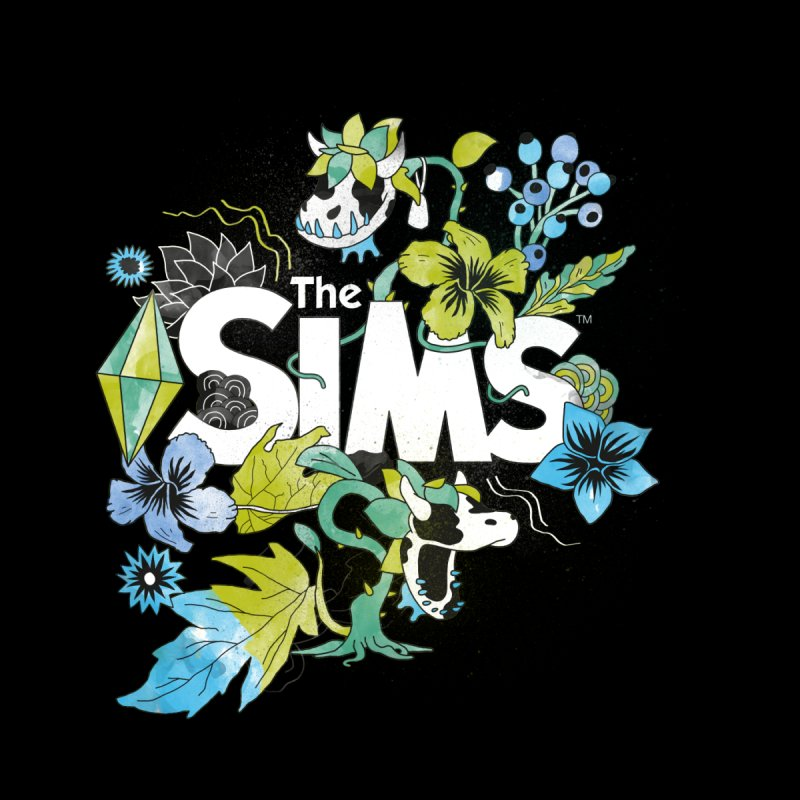 The Sims Garden - Blue Kids Baby T-Shirt by The Sims Official Threadless Store