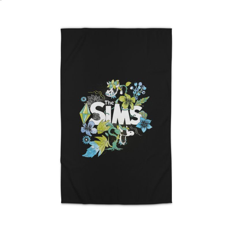 The Sims Garden - Blue Home Rug by The Sims Official Threadless Store