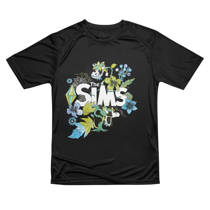 The Sims Garden - Blue Women's Performance Unisex T-Shirt by The Sims Official Threadless Store