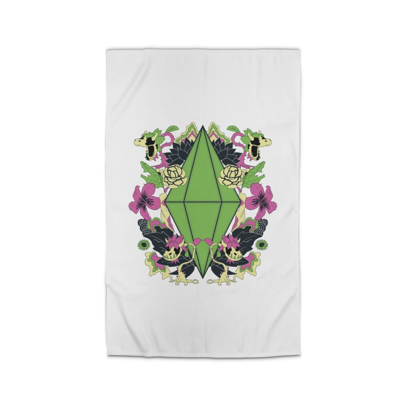 Floral Plumbob Home Rug by The Sims Official Threadless Store