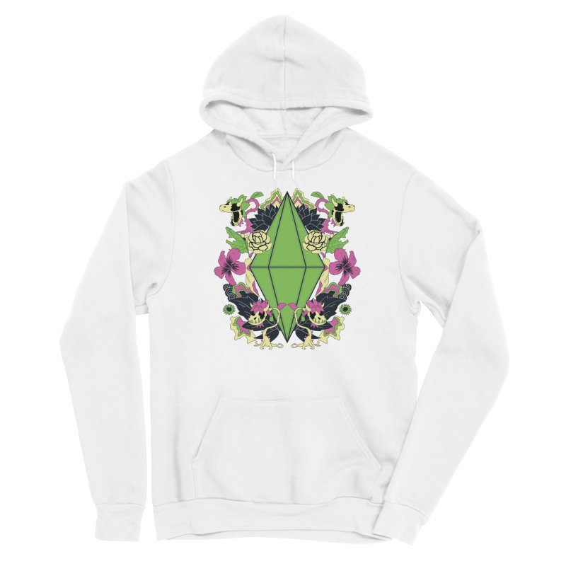 Floral Plumbob Men's Pullover Hoody by The Sims Official Threadless Store