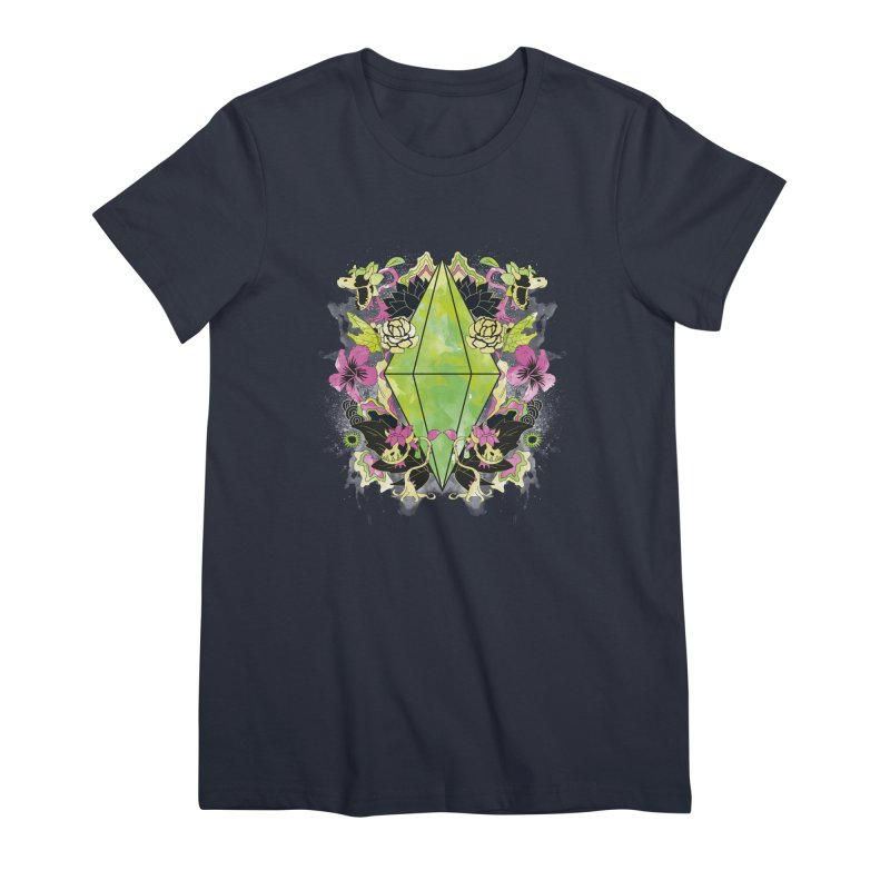 Floral Plumbob Women's T-Shirt by The Sims Official Threadless Store