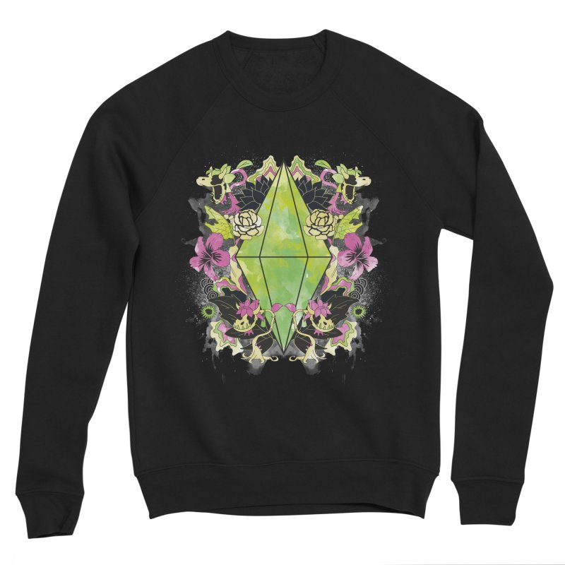 Floral Plumbob Women's Sweatshirt by The Sims Official Threadless Store