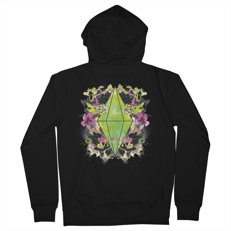 Floral Plumbob Men's Zip-Up Hoody by The Sims Official Threadless Store